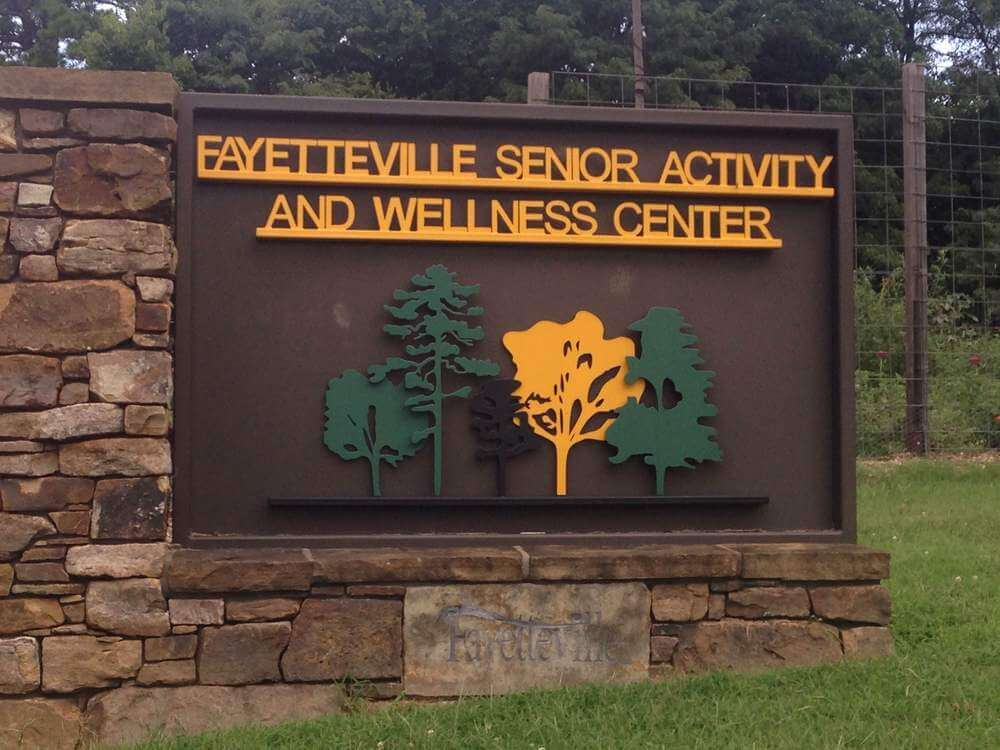 Fayetteville Senior Activity & Wellness Center (Washington County) at 945 South College