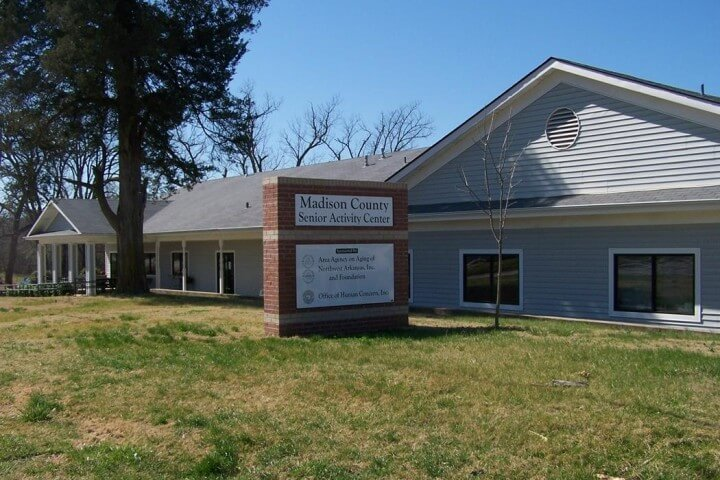 Madison County Senior Activity & Wellness Center at 903 N. College