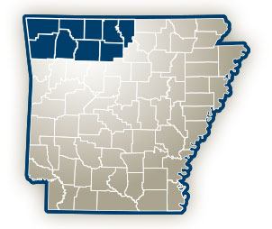 Serving Baxter, Benton, Boone, Carroll, Madison, Marion, Newton, Searcy and Washington Counties in Northwest Arkansas